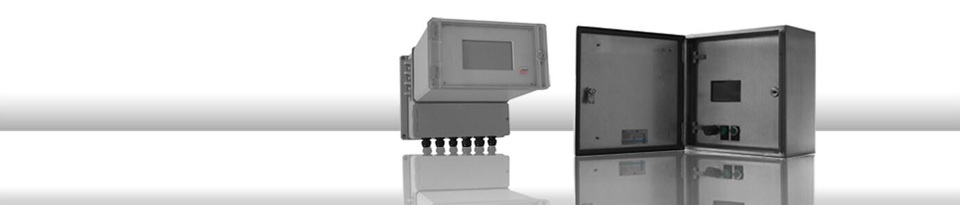 PMD - Präzisions Mikrowellengeräte Serie - zur Prozesskontrolle in der industriellen Online Feuchtemessung   InduTech instruments GmbH
